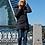 Удлиненная куртка, пальто Scanndi finland DW19030 (темно-синий)