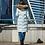 Пальто Scanndi finland DW19344 (нежно-зеленый)