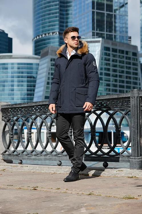 Мужская зимняя куртка Scanndi finland DM19041 синий
