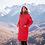 Женская курткаScanndi finland DW1964 (красный)