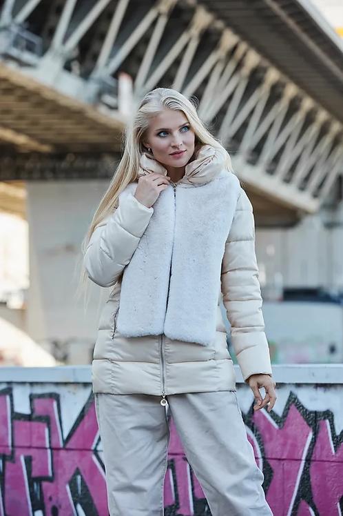 Куртка Scanndi finland DW19064 (молочный)