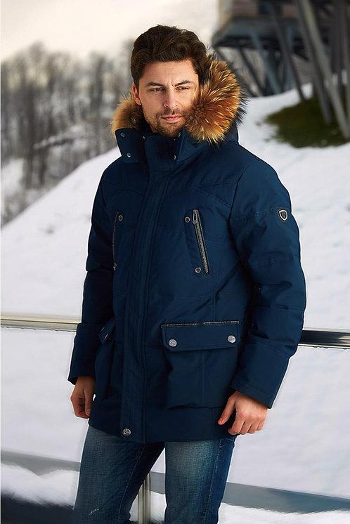 Мужская зимняякуртка Scanndi finland DM19015 (темная бирюза)