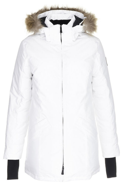 Укороченная куртка Scanndi finland DW19032b (белый)