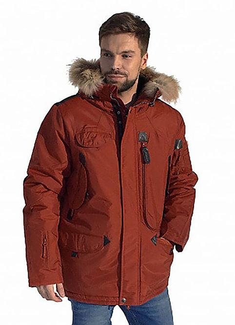 Удлиненная зимняя куртка аляска Scanndi finland DM19098b