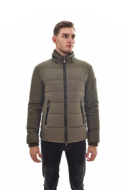 Хлопковая мужская весенняя куртка, бомбер Scanndi Finland CM29043 (тундра)