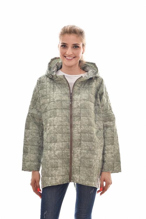 Женская весенняя хлопковая куртка, бомбер Scanndi Finland CW2974 (ментол)