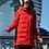 Удлиненная женская зимняя куртка, пальто Scanndi finland DW19030 (красный)