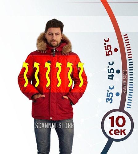 Куртка с подогревом Hot Term DM19098a1 (красный)
