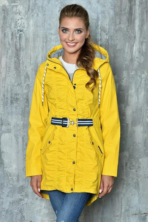 Женская весенняя хлопковая куртка, бомбер Scanndi Finland BW29080 (желтый)