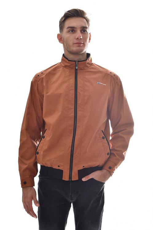 Мужская весенняя хлопковая куртка, бомбер Scanndi Finland BM2923 (терракот)