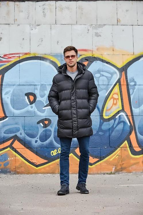 Куртка, пуховик Scanndi finland DM19081b (черный)