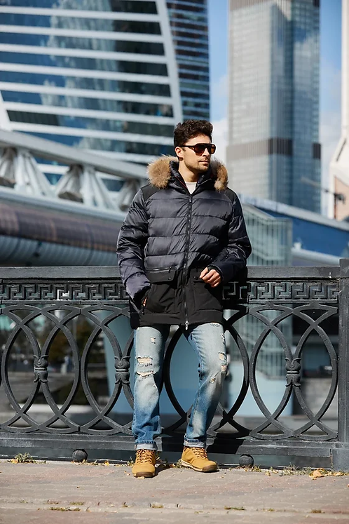 Мужская куртка Scanndi finland DM19093 (черный)