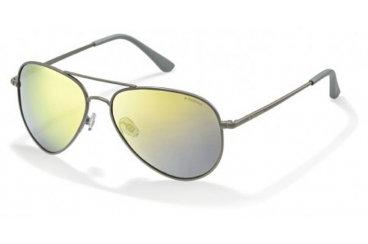 Солнцезащитные очкиPolaroid P4139Mв металлической оправ в металлическойоправе.