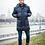 Мужское зимнее финское пальто-пуховик Scanndi finland DM19021a