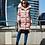 Женский пуховик Scanndi finland DW19088 (розовый)
