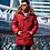 Пальто-пуховик Scanndi finland DM19023 (красный)
