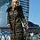 Женское зимнее пальто Scanndi finland DW19028 (хаки)