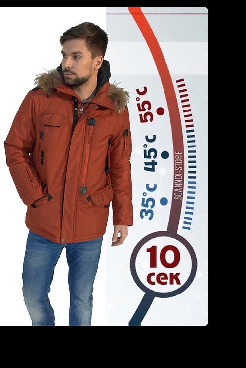 Куртка с подогревом Hot Term DM19098b1 (терракот)