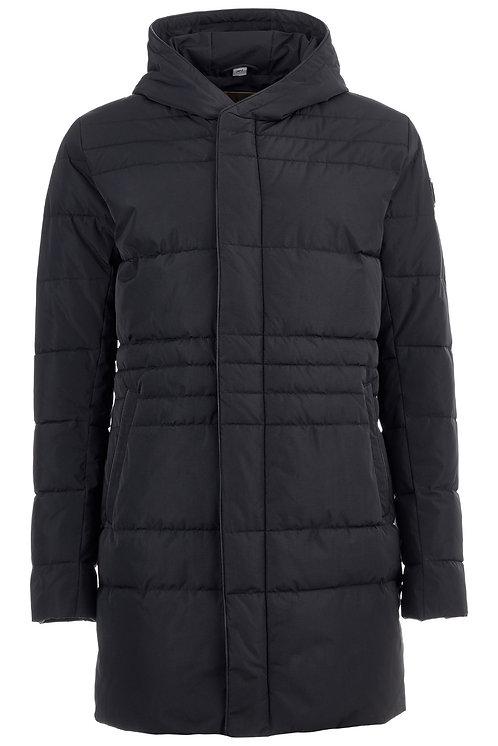 Мужская финская удлиненная куртка Scanndi finland DM19020 черный