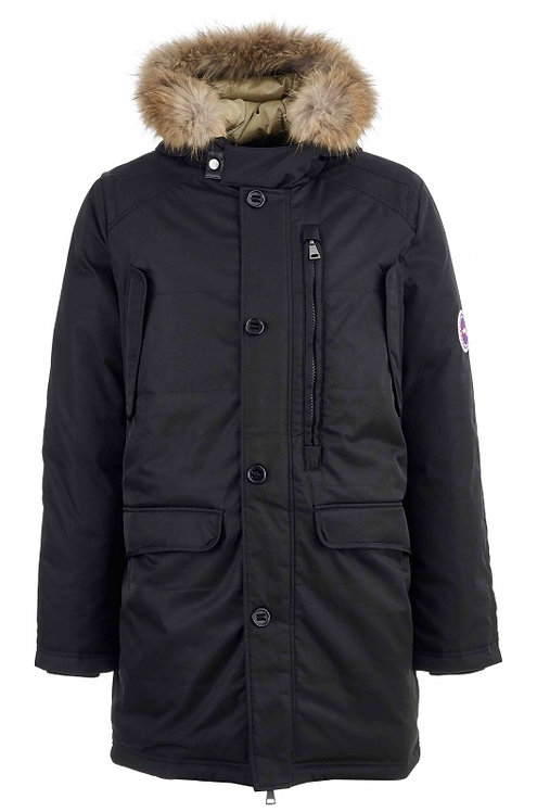 Мужская зимняя куртка,аляска Scanndi finland DM19071 (темно-синий)