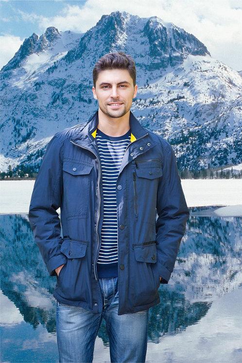 Осенняя куртка Scanndi finland CM1887 темно-синяя