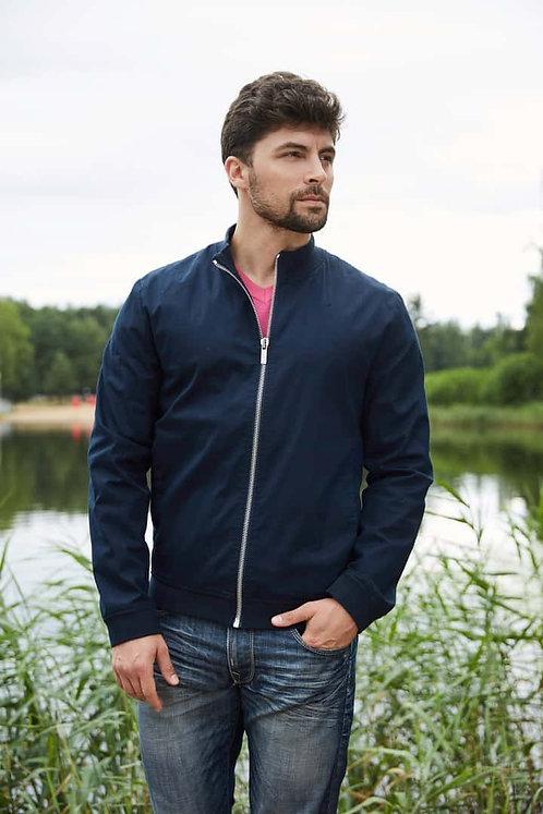 Мужская осенняя финская куртка Scanndi finland BM2871 темно-синий