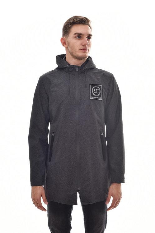 Мужская весенняя хлопковая куртка, бомбер Scanndi Finland BM29059b (темно-синий)