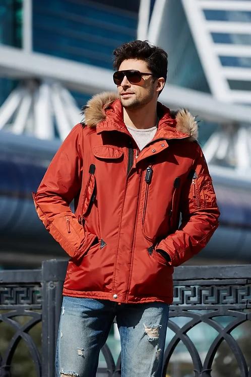 Мужская куртка Scanndi finland DM19098b1 (терракот)