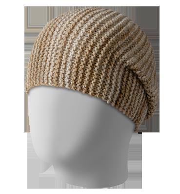 шапка Across бежевый