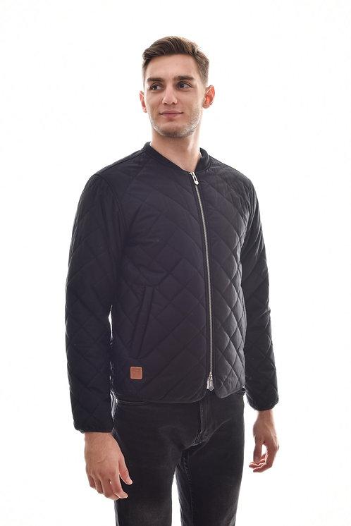 Хлопковая мужская весенняя куртка, бомбер Scanndi Finland CM29063 (темно синий)