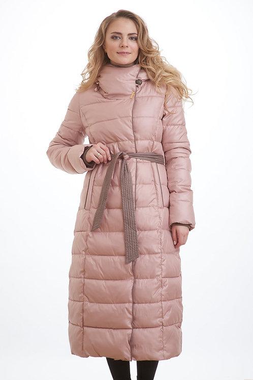 Женское пальто Scanndi finland DW19036 розовый (модель 2019 года)