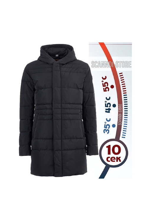 Пальто с подогревом Hot Term DM190201 (чёрный)