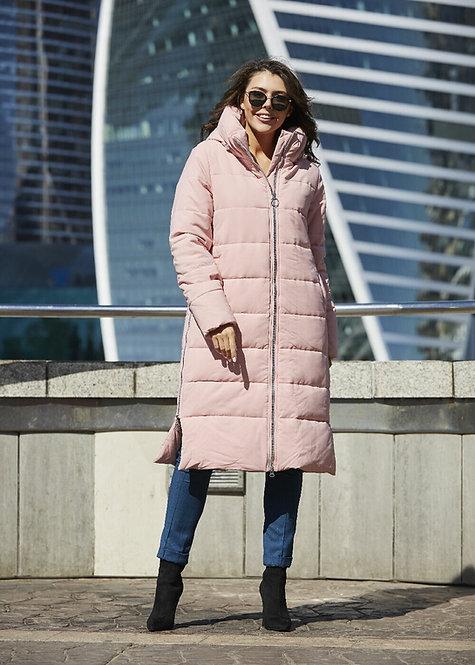Пальто Scanndi finland CW19338 (розовый)