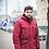 Удлиненная мужская зимняя финская куртка Scanndi finland DM2021 (красный)