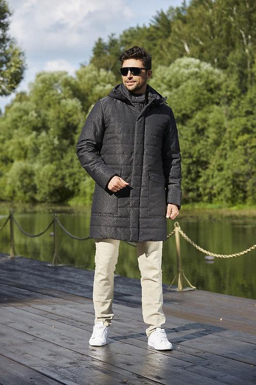 Удлинненая куртка Scanndi Finland CM2969_ (серый меланж)