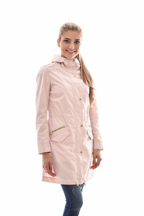 Женская весенняя хлопковая куртка, бомбер Scanndi Finland BW29090 (розовый)