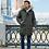 Мужская зимняя куртка Scanndi finland CM19089a (хаки)