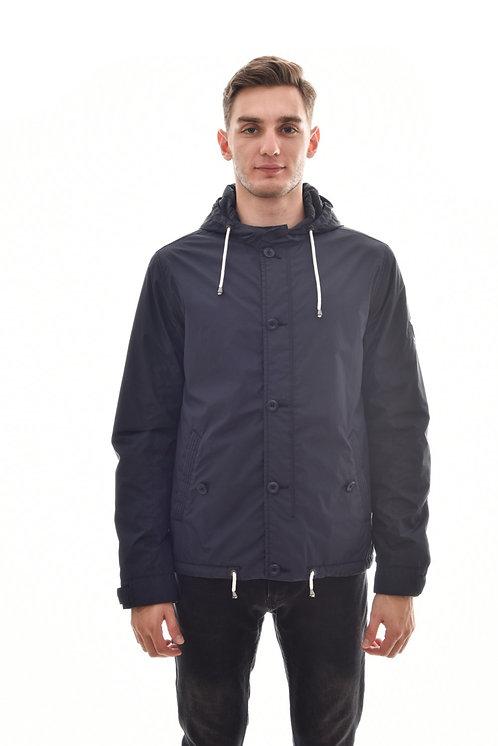 Хлопковая мужская весенняя куртка, бомбер Scanndi Finland CM19065 (темно синий)