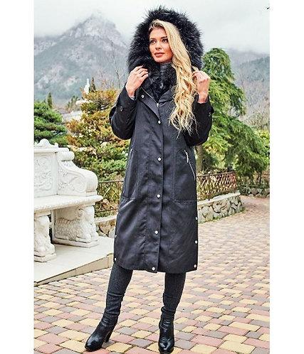 Пальто-пуховик Scanndi finland DW19014 (чёрный)