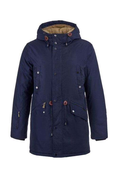 Мужская зимняя куртка, парка Scanndi finland DM19045 темно-синий