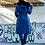 Женское пальто Scanndi finland DW19026 (темно-синий)