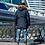 Мужское зимнее пальто-пуховик Scanndi finland DM19023 (темно-синий))