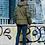 Мужская зимняя финская куртка Scanndi finland DM19001a (хаки)