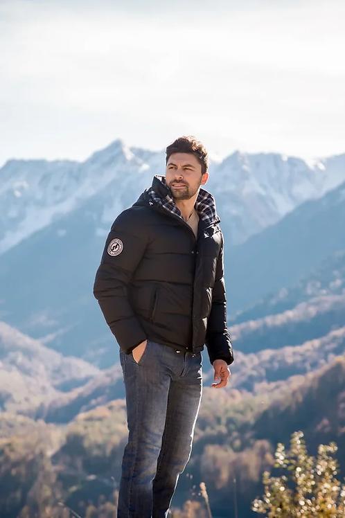 Мужская зимняя финская куртка Scanndi finland DM2039 (черный)
