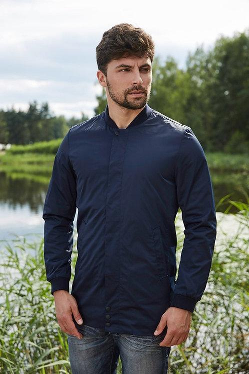 Мужская осенняя куртка Scanndi finland BM2873 темно-синий