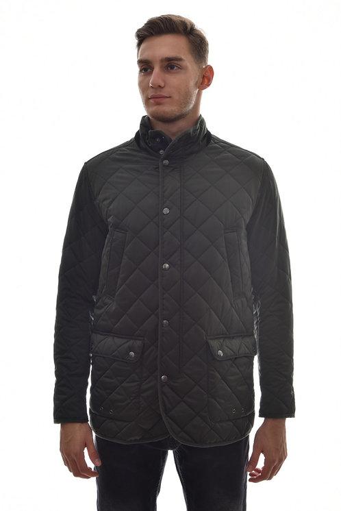 Хлопковая мужская весенняякуртка, бомбер Scanndi Finland CM29037 (черный)