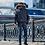 Зимняя мужская куртка, бомбер Scanndi finland DM19029 (темно-синий)