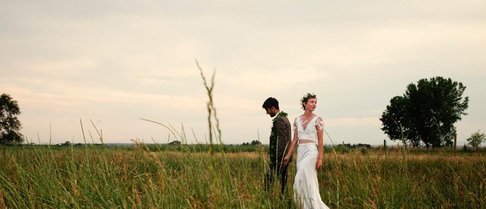 Boho Pasture Wedding