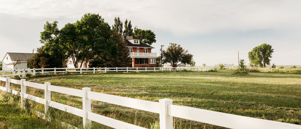 Front Pasture with Farm House