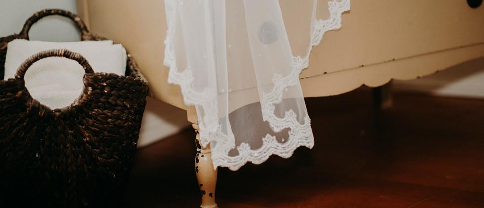 Veil on Vanity